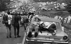 burk uzzle photo-Woodstock 1969