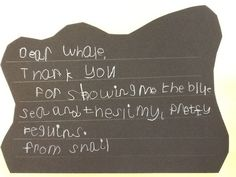 The Snail and the Whale writing. Year 1. KS1.