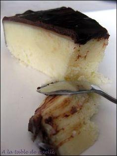 gâteau à la noix de coco, saveur Bounty