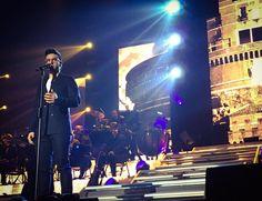 Repost ilvolomusic  Piero live from #Milano #ilvololivepalasport2016 @barone_piero