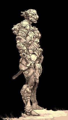 Robo Suit by Alex Pascenko