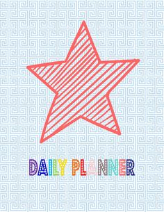 2015-2016 Daily Planner Printable Pages  INSTANT by Cucawik