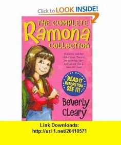 The Complete Ramona Collection (9780061960901) Beverly Cleary, Tracy Dockray , ISBN-10: 006196090X  , ISBN-13: 978-0061960901 ,  , tutorials , pdf , ebook , torrent , downloads , rapidshare , filesonic , hotfile , megaupload , fileserve