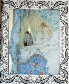 Csoda Album' - a fairytale collection illustrated by Heinrich Lefler and Josef Urban. Published 1911 in Budapest