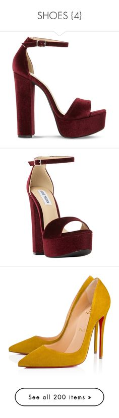 """""""SHOES {4}"""" by rihannamaterial ❤ liked on Polyvore featuring shoes, sandals, heels, sapatos, high heels, platform heel sandals, steve madden sandals, heeled sandals, ankle strap high heel sandals and block-heel sandals"""
