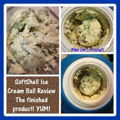SoftShell Ice Cream Ball #Review and #Win your own Ice Cream Ball- 25 winners