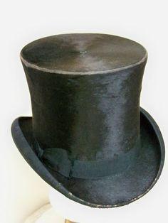Mens Antique Victorian Silk Top Hat  Shelton & Co  London MUSTC