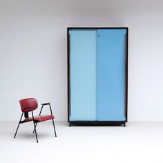Willy Van Der Meeren Cabinet Tubax 1952