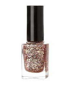 Gina Tricot - Bella nagellack (Rosé gold glitter)