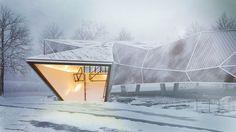 CGarchitect - Профессиональный 3D архитектурная визуализация Сообщество пользователей | Making Of Snow музей