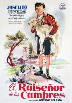 El ruiseñor de las cumbres Cinema Posters, Film Posters, Poster On, Poster Prints, Information Poster, Original Movie Posters, Vintage Movies, Nostalgia, Image