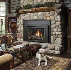 Excellent Free of Charge Stone Fireplace update Popular Fantastic Totally Free Gas Fireplace insert Concepts Much as most people whine regarding the winter Rustic Stone, Pellet Stove, Stone Fireplace, Wood Burning Fireplace, Hearth, Fireplace Remodel, Hearth Stone, Fireplace, Wood Burning Fireplace Inserts
