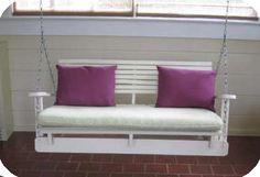 Pallet-Swing-Chair