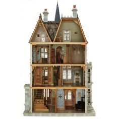 To my dismay... Annalisa never got into dollhouses :~(  (I've always wanted to do this but never had the excuse)
