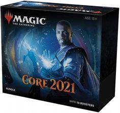 Kartová hra Magic: The Gathering Core 2021 - Bundle (STHRY) Společnost Wizards of the Coast je mezi karetními hrami legendou se svou sběratelskou karetní hrou Magic: The Gathering. Jako každý rok vydává svou novou sérii základních karet, které budou v daném roce standardě hrány. Tento bundle umožní milovníkům ... 34,99€