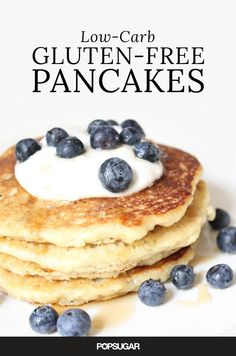 These Wheat-Free, Gluten-Free and Low-Carb Pancakes are Absolutely Guilt-Free