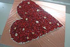 Erdbeer-Herz von der Konditorei Krönner Garmisch