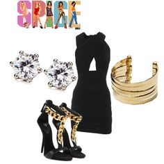 """""""Posh Spice"""" by ashley-nicole-parris on Polyvore"""