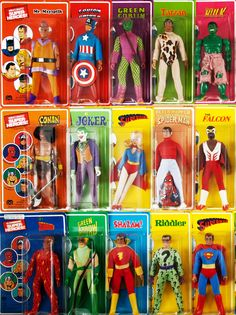 Mego action figures - I had some of these, but not anymore!