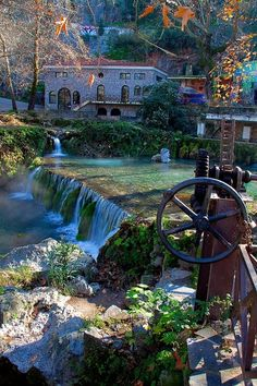 Region of Kryas in Livadia, Greece Places To Travel, Places To See, Beautiful World, Beautiful Places, Amazing Places, Places In Greece, Le Palais, Thessaloniki, Greece Travel