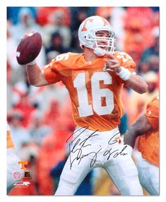 The best quarterback in college football history -- Tennessee's Peyton Manning