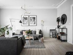 Gravity Home: Scandinavian Home Scandi Living Room, Living Room Grey, Interior Design Living Room, Living Room Designs, Living Room Decor, Design Bedroom, Bedroom Ideas, Bedroom Decor, Dining Room