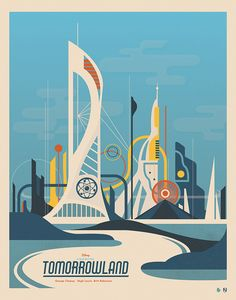 #Tomorrowland Poster 2
