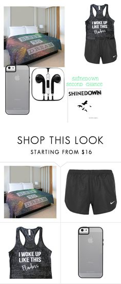 """lonely"" by jessica101turner ❤ liked on Polyvore featuring One Bella Casa and NIKE"