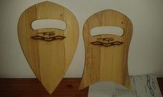 Triplo designed Handplanes. Obeche Wood.