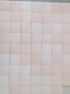 Rose Boudoir Mat 4 Cm Mosaique Emaux Au M Carrelage Salle De