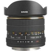 Bower   SLY 835C 8mm f/3.5 Fisheye Lens For Canon APS-C  EOS Cameras