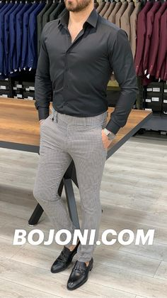 Patterned Pants Outfit, Chinos Men Outfit, Stylish Mens Outfits, Casual Outfits, Summer Outfits, Business Attire For Men, Mens Dress Pants, Poses, Men Casual