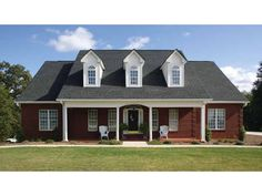 Country House Plan with 1992 Square Feet and 3 Bedrooms from Dream Home Source | House Plan Code DHSW23435