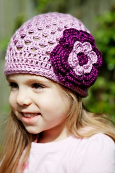 Love these crocheted beanies!!