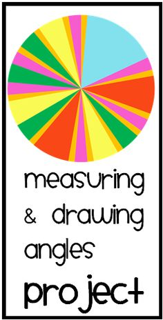 A free activity to get students measuring and drawing angles to construct their own equal-areas-circle. Math Resources, Math Activities, Math Games, Math Lesson Plans, Math Lessons, Math Talk, Math Measurement, Montessori Math, 7th Grade Math