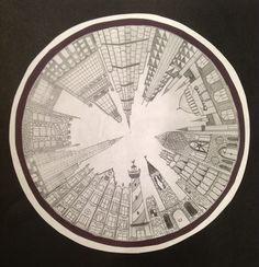 The smARTteacher Resource: 1-Point Perspective City