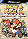 Paper Mario: The Thousand-Year Door (Nintendo), GameCube; role-playing video game developed by Intelligent Systems & published by Nintendo, it is the game in the Paper Mario series. The player controls Mario, although Bowser & Princess Peach are playa Paper Mario 2, Paper Mario Games, Gamecube Controller, Gamecube Games, Nintendo Games, Gameboy Games, Wii Games, Arcade Games, Advance Wars