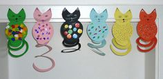 Craft ideas / crafts-themed Cat Ringtail - My CMS Diy Crafts For Kids, Fun Crafts, Arts And Crafts, Paper Crafts, Craft Ideas, Circus Crafts, February Holidays, Kids Dress Up, Educational Games For Kids
