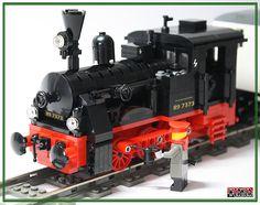 Lego Train Tracks, Lego Trains, Toys For Boys, Boy Toys, Lego Mechs, Train Engines, Lego Worlds, Rolling Stock, Lego Stuff