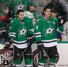 Tyler Seguin and Jamie Benn.... these ridiculous boys