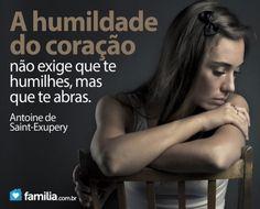 Familia.com.br   A #conquista da #humildade. #Crescimentopessoal