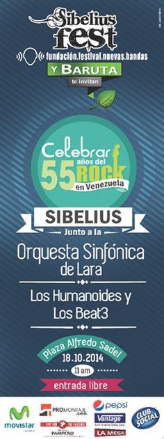 Cresta Metálica Producciones » Alianza Sibelius Fest, Fundación Nuevas Bandas y La Alcaldía de Baruta traen el evento del año