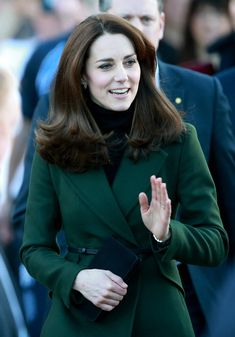 The Duchess of Cambridge Visits Edinburgh on February 24, 2016