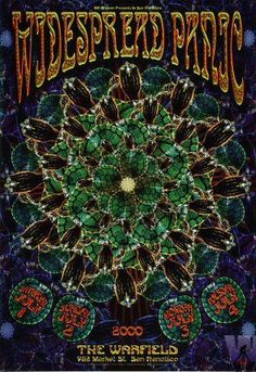 Widespread Panic - Art by Chris Shaw