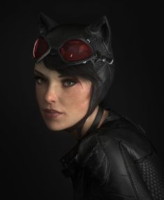 Portrait of Catwoman from Batman arkham knight . Hope you like it! XPS model + 3dMax/Vray + Photoshop