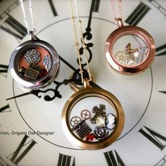 {Steampunk} Steampunk Lockets! I had never heard of this style before my Origami Owl Adventure. It is a victorian, fantasy and mechanical inspired style...what do you think?