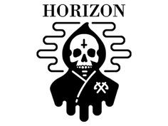 Graphic for Bring Me The Horizon's merch line.