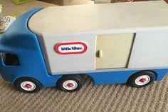 Little Tikes Semi Truck Vintage Durable | eBay
