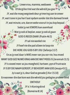 Psalm 46 5, Psalms, Afrikaanse Quotes, Woman Quotes, Verses, Inspiration, Women, Biblical Inspiration, Scriptures