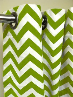 Shower Stall Shower Curtain - Premier Decorator Zig Zag Chevron  - Free Shipping - Pick your color